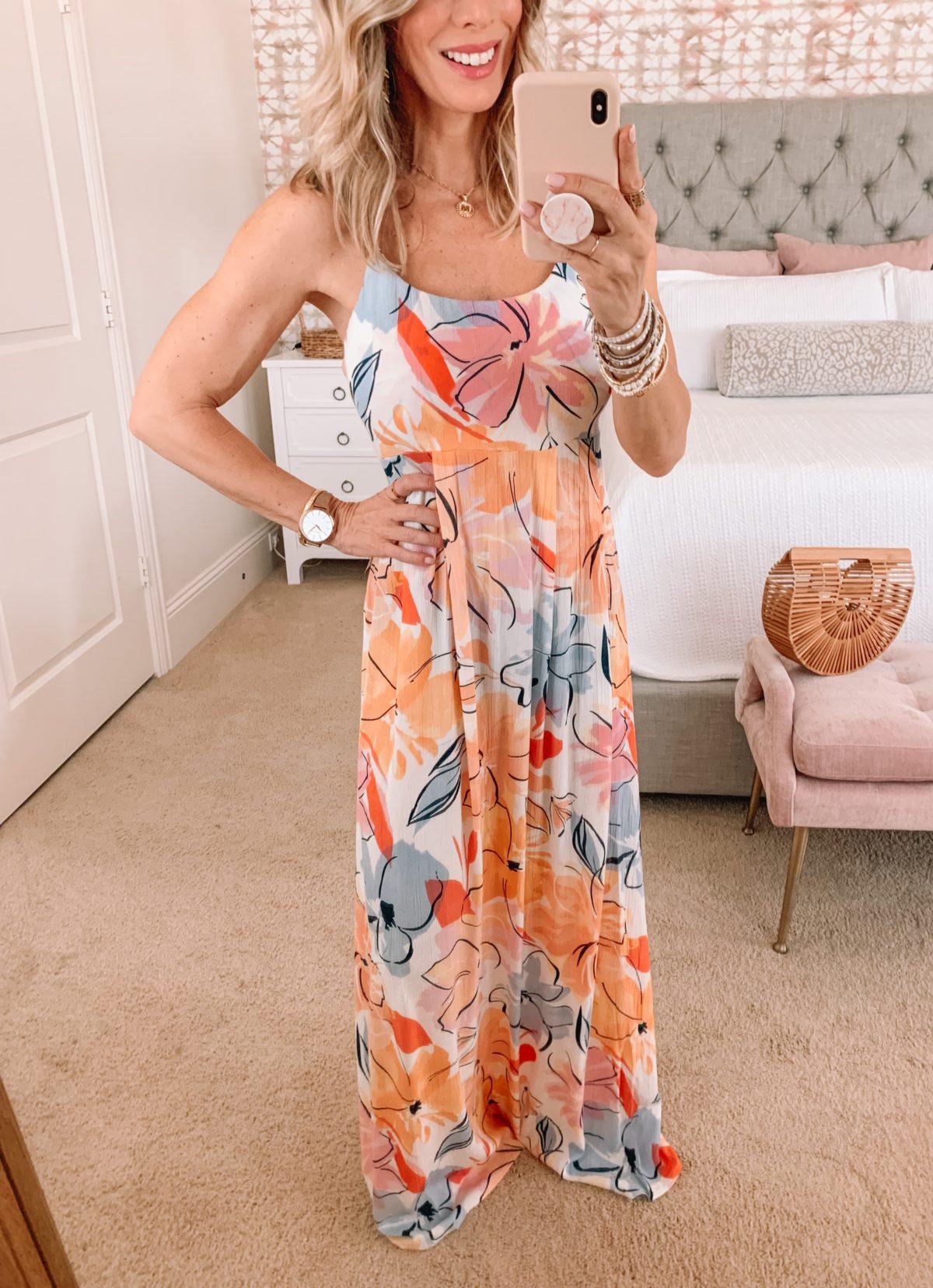 Dressing Room Finds, Floral Maxi