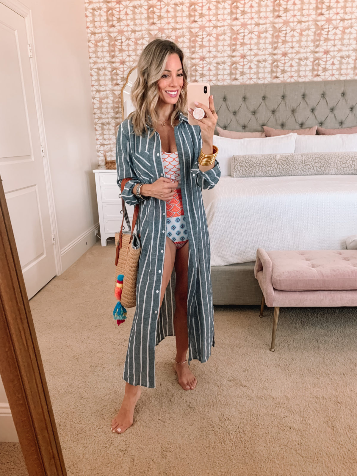 Amazon Fashion Faves, Swimsuit, CoverUP and Tote