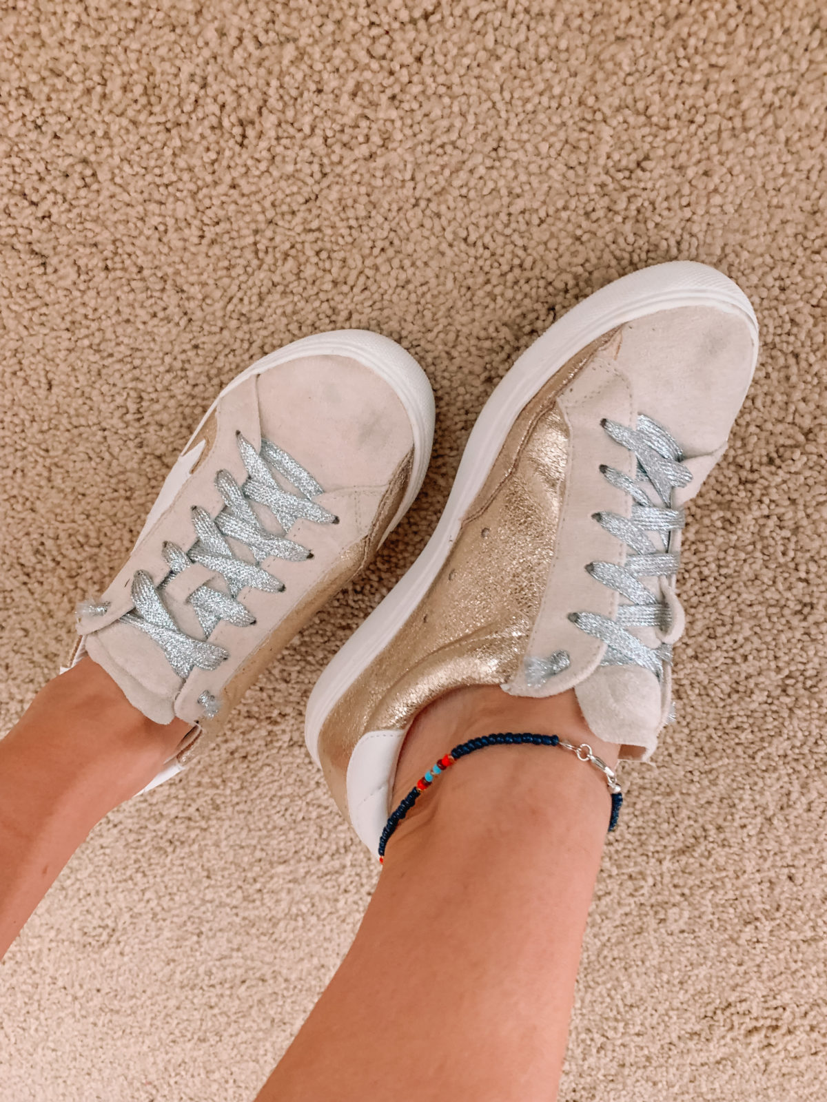 Amazon Fashion Faves, Star Sneakers, Anklet