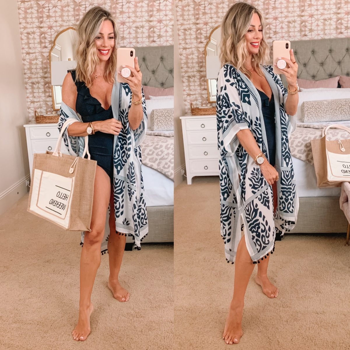 Amazon Fashion Faves, Swim Cover Up and Tote