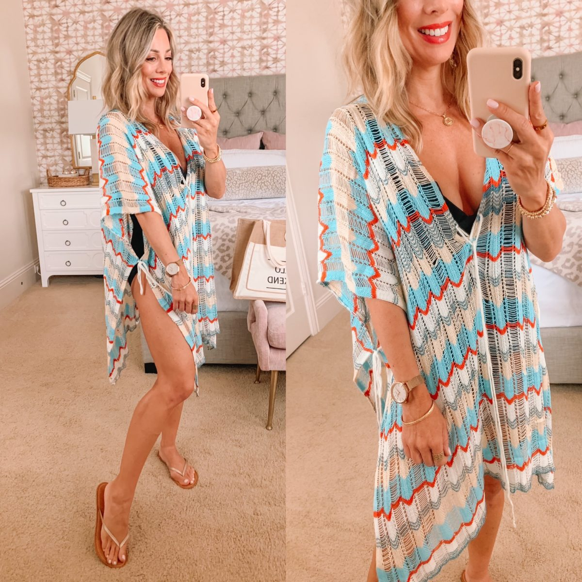 Amazon Fashion Faves, Swim Cover Up and Flip Flops