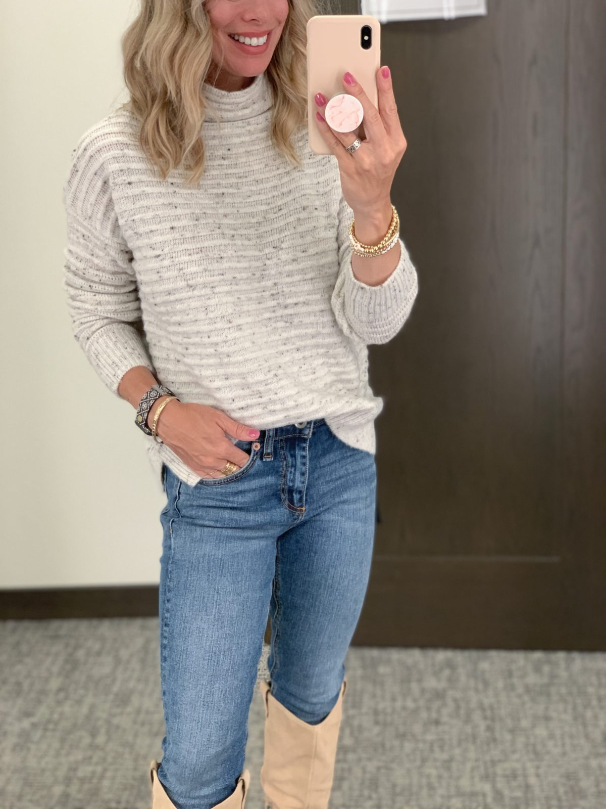 Nordstrom Anniversary Sale, Sweater, Jeans, Boots