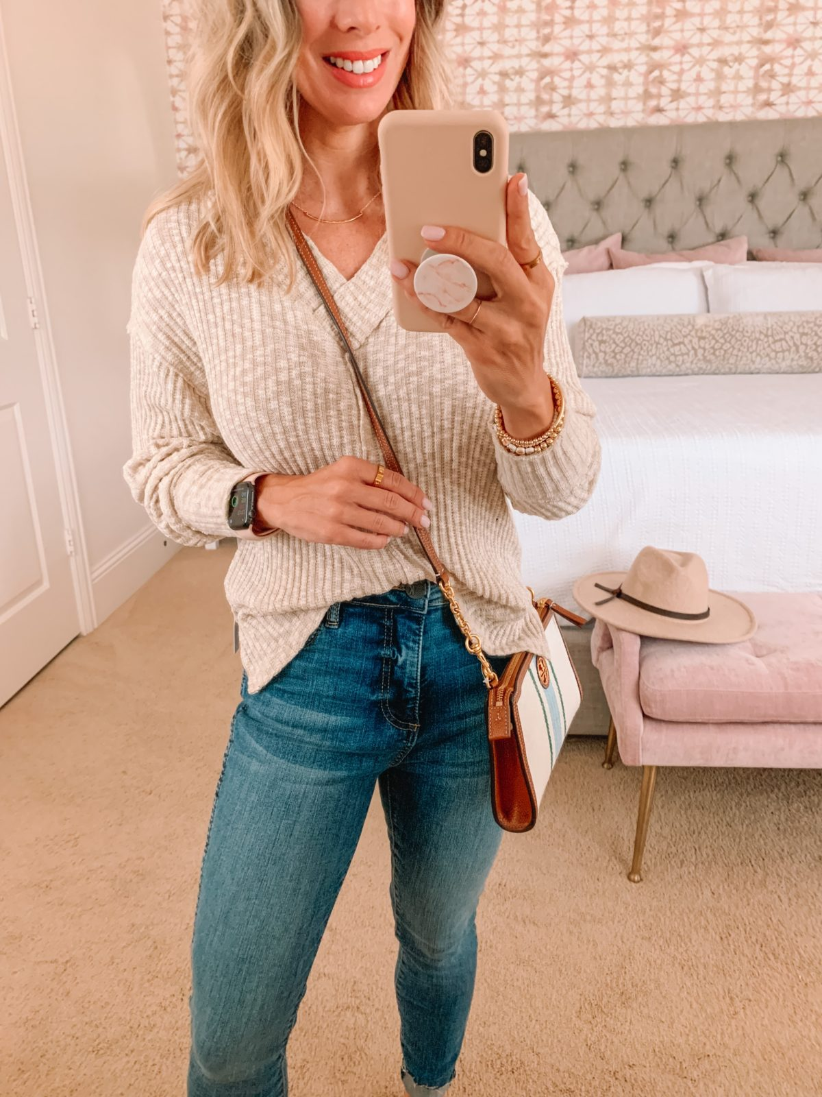 Nordstrom Anniversary Sale, Sweater, Jeans, Mules , Crossbody
