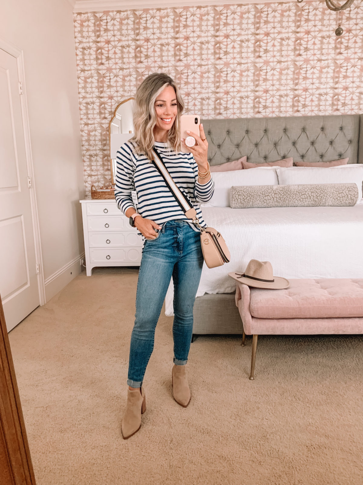 Nordstrom Anniversary Sale, Sweater, Jeans, Boots , Crossbody