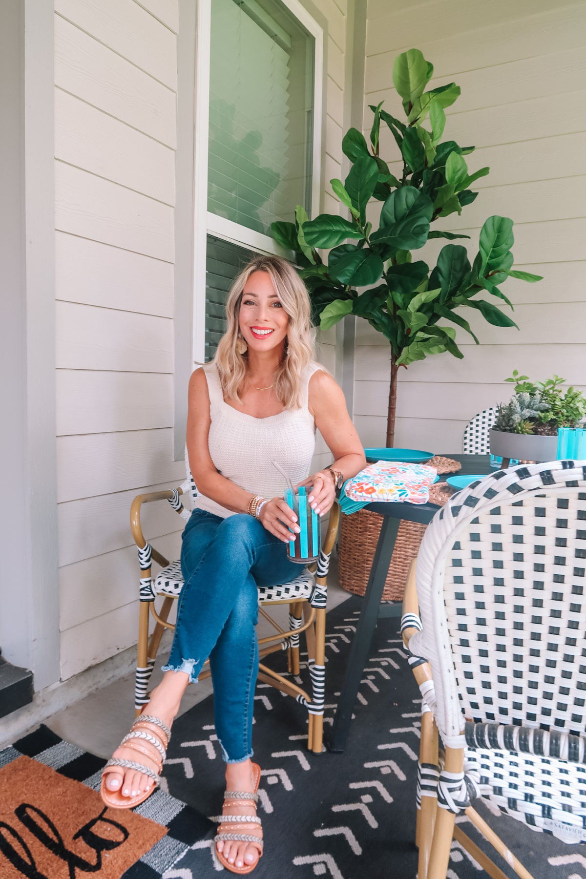 Backyard Patio Refresh & The Best Place to Buy Succulents