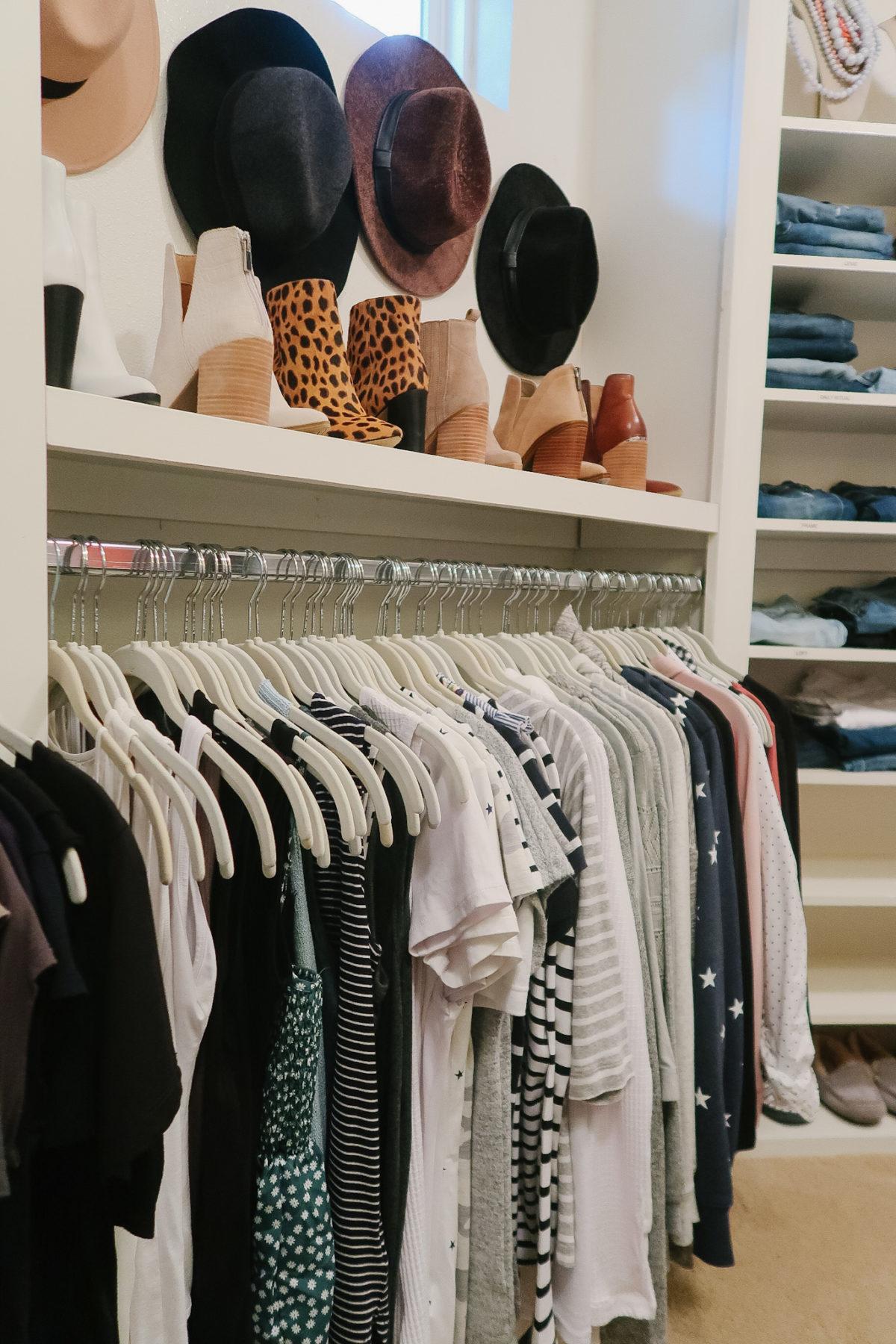 Organized Master Closet