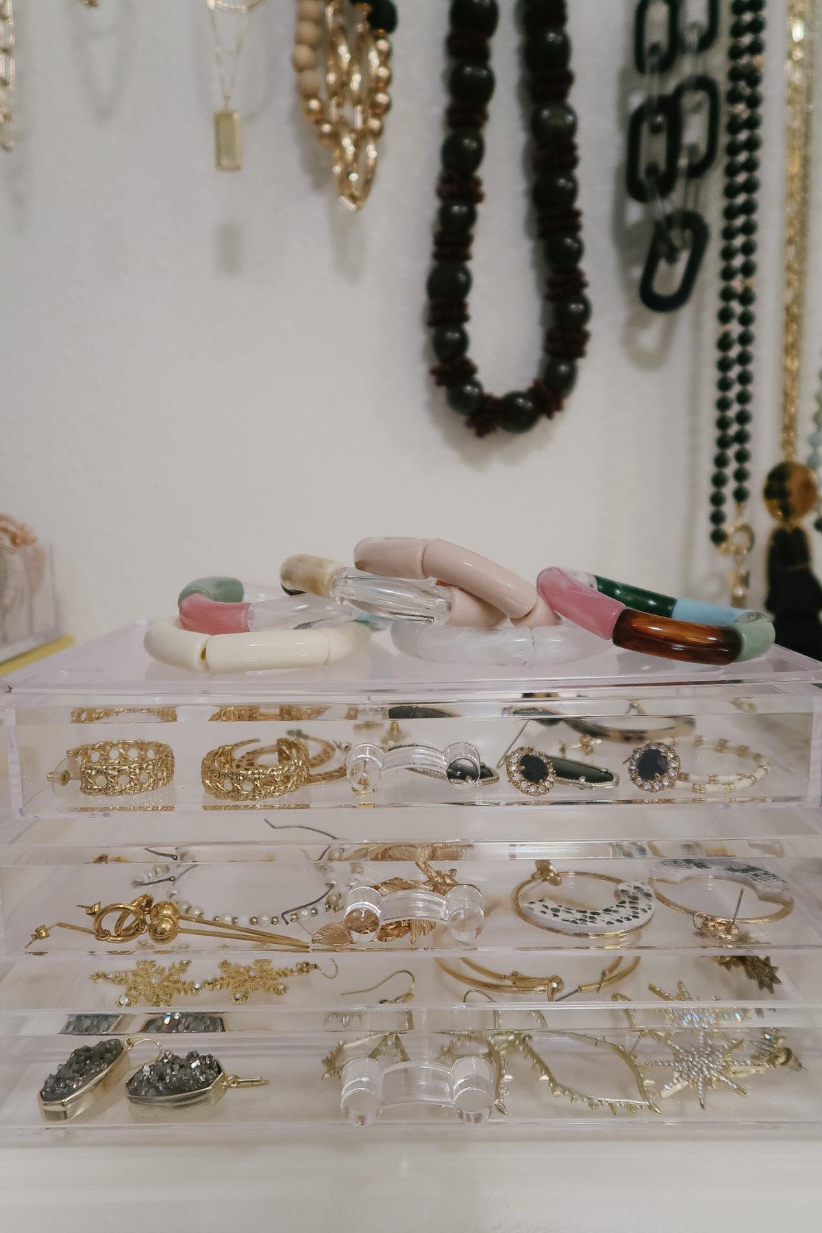 Master Closet Organization - accessories