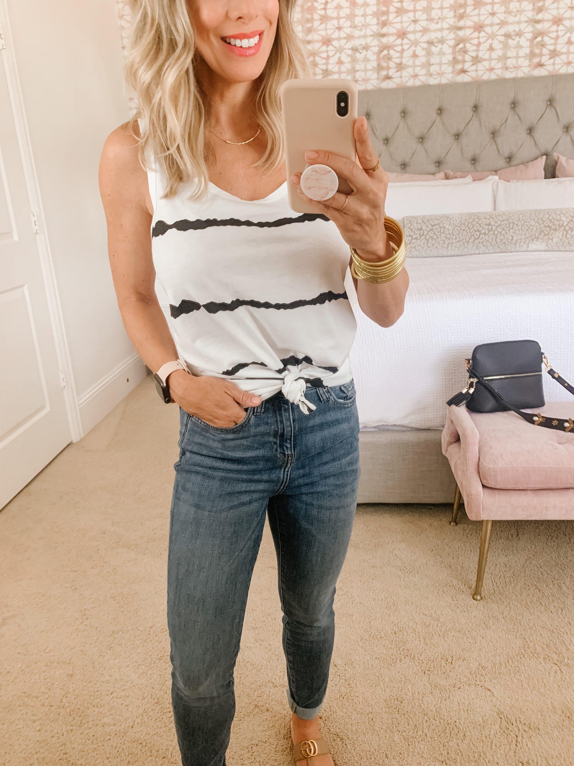 Amazon Fashion Faves - Tank Jeans