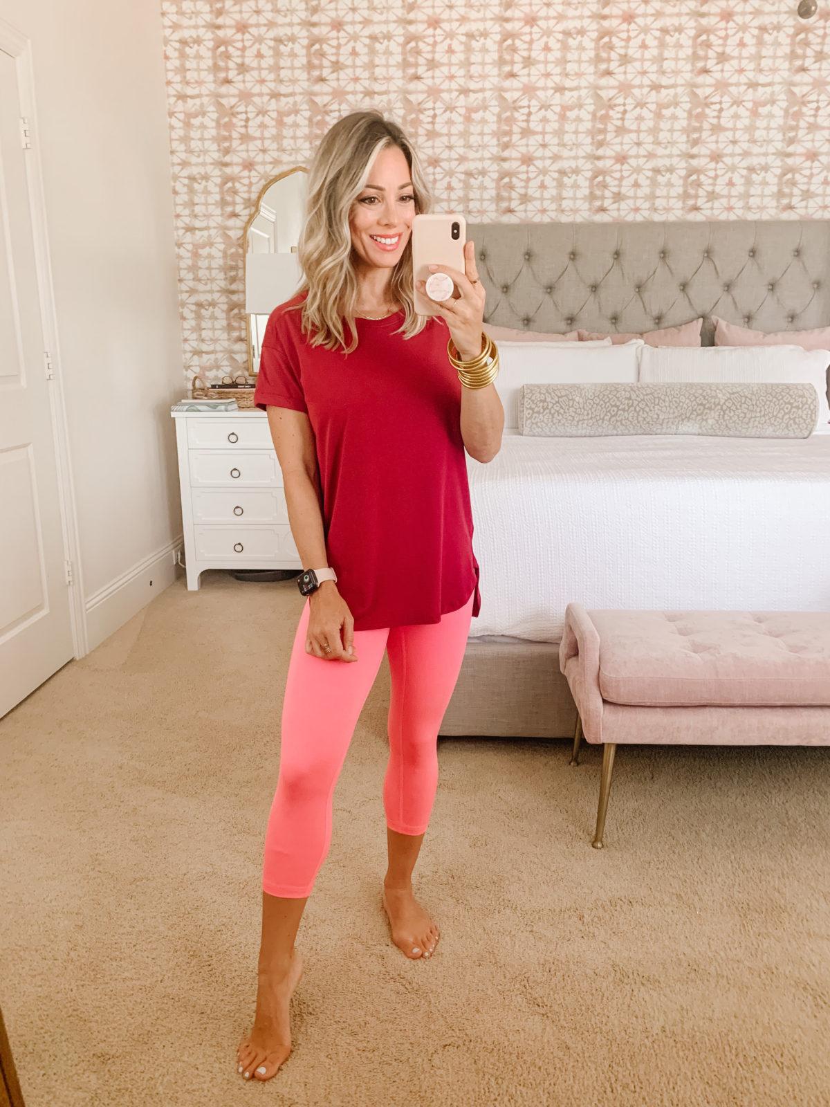 Amazon Fashion Faves, Tee and Leggings