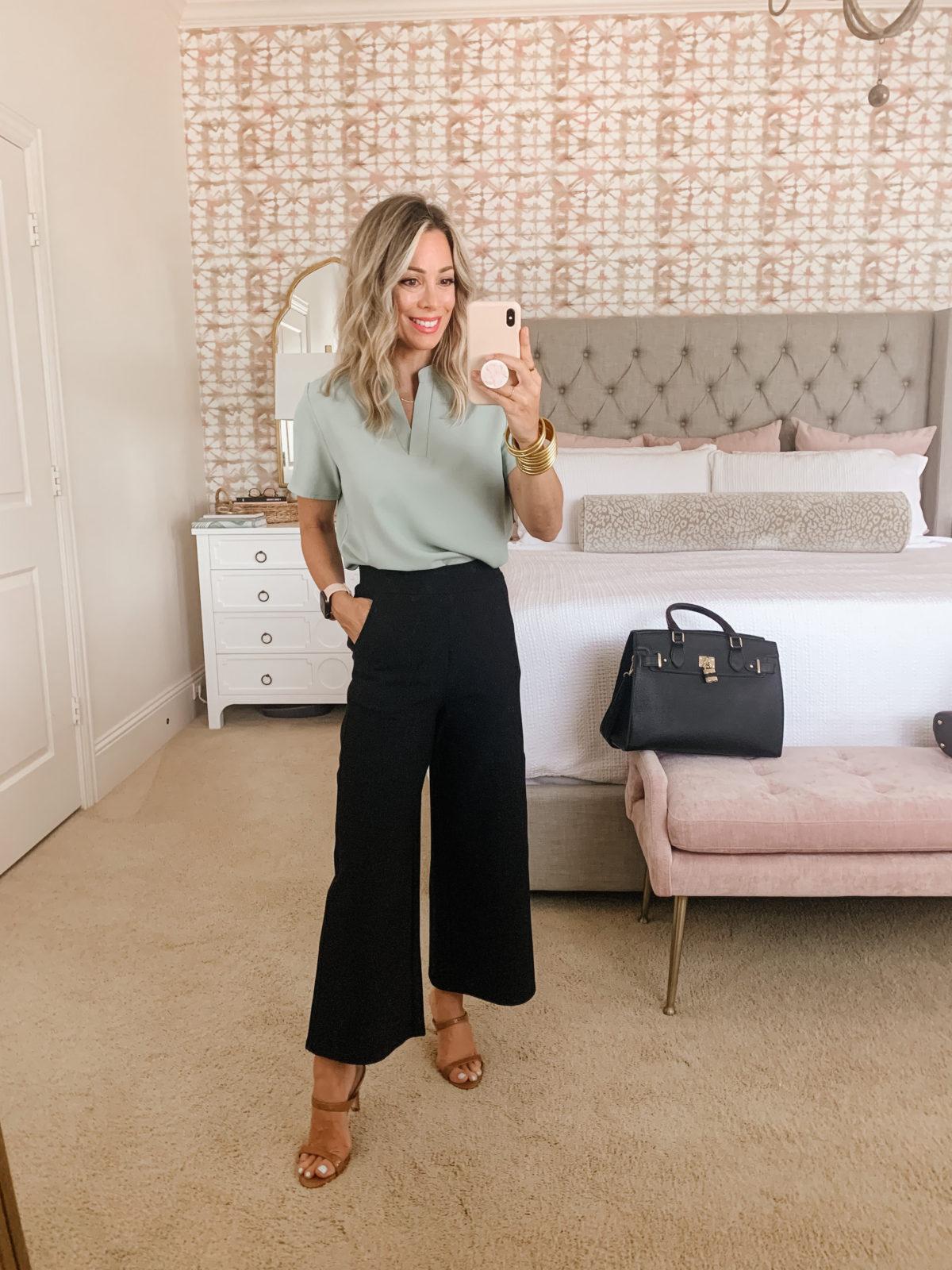 Amazon Fashion Faves, Top, Pants, Tote Bag