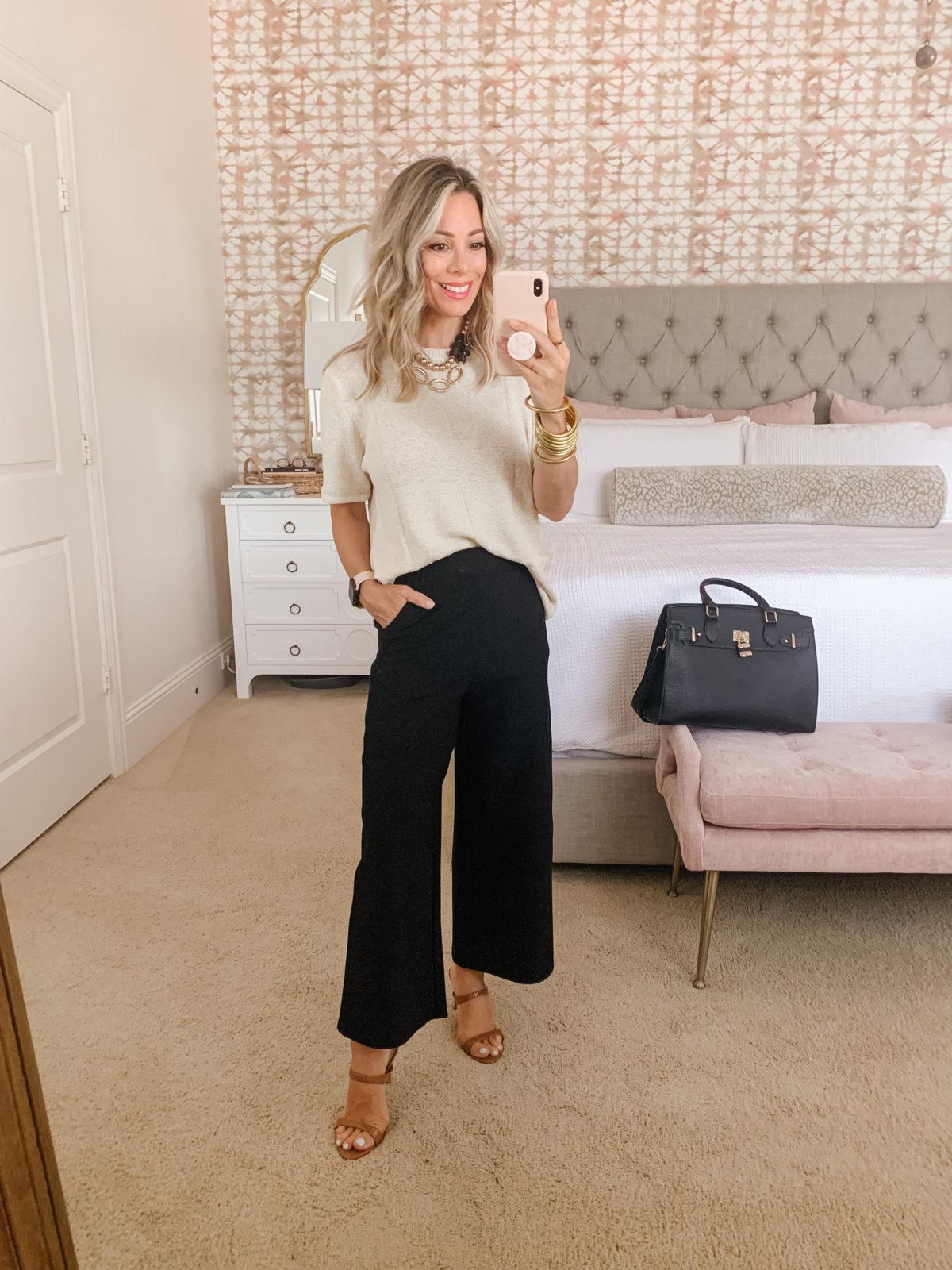 Amazon Fashion Faves, Sweater, Pants, Tote Bag