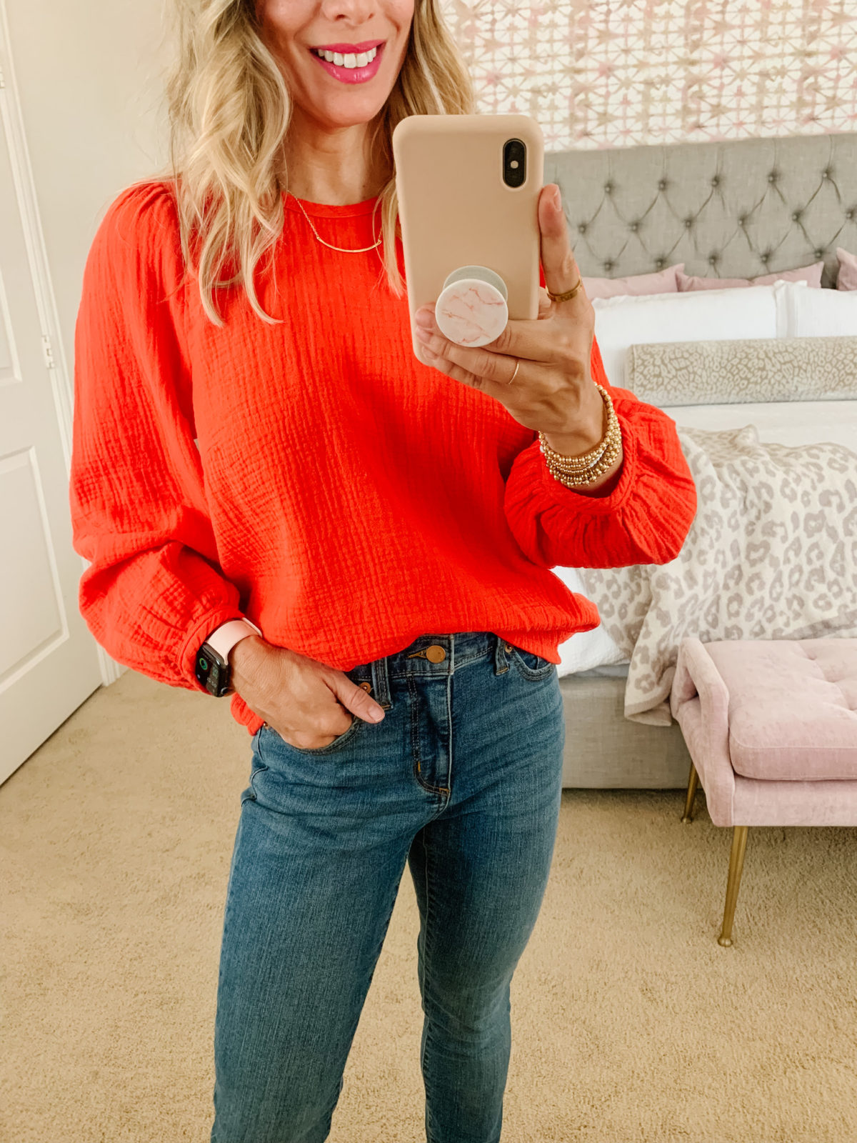 Target Fashion Finds, Top, Jeans, Wedges
