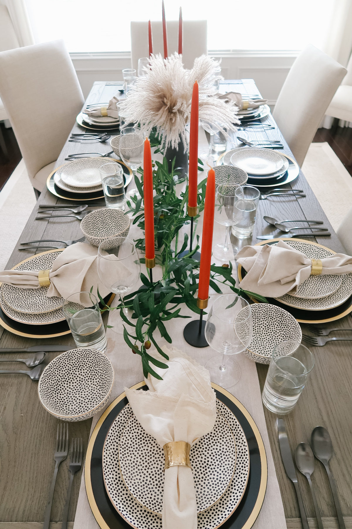 A Luxe Tablescape and Everything is from Walmart
