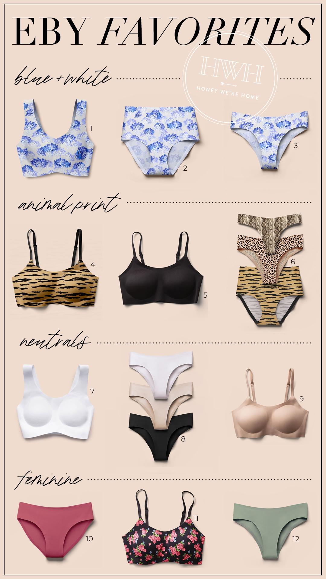 Eby bras and undies